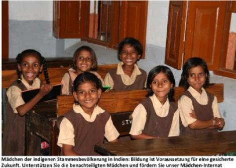 Integration extrem benachteiligter Mädchen in Indien