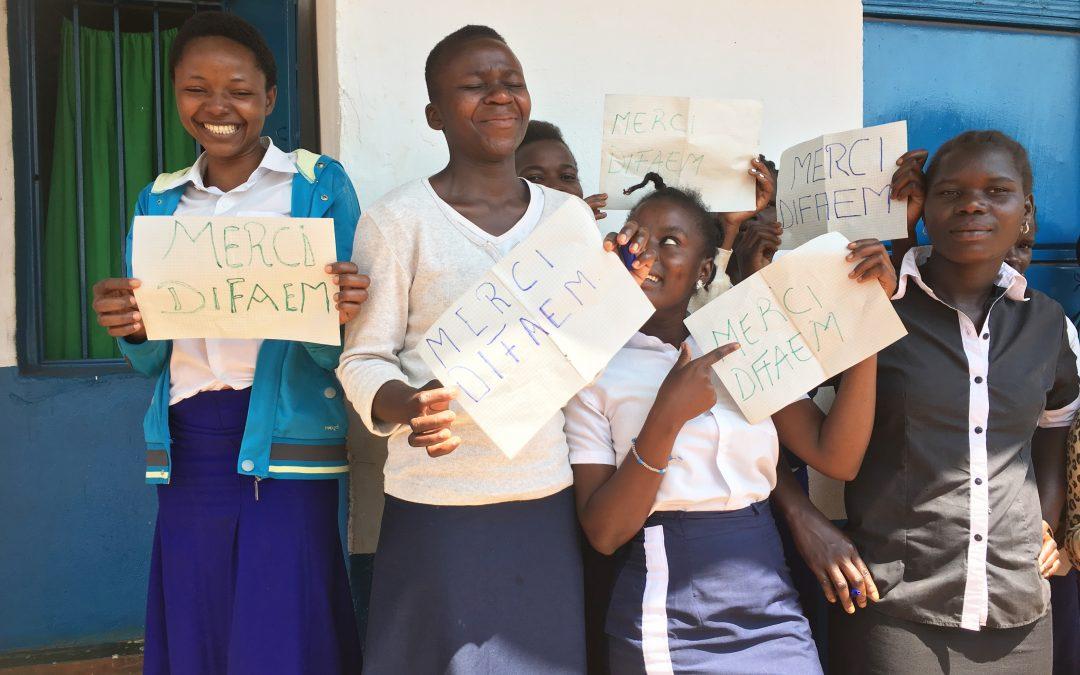Bildung für behinderte Kinder im Kongo